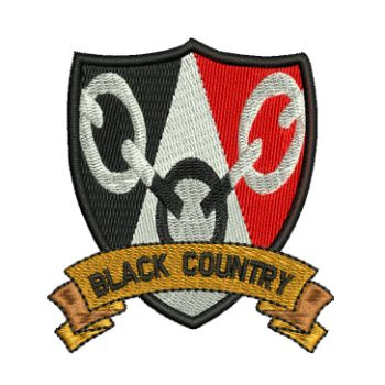 BLACK COUNTRY EMBROIDERED BADGE